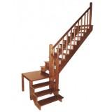 Лестничные площадки из дерева