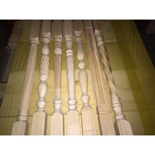 Балясины для лестницы из дерева
