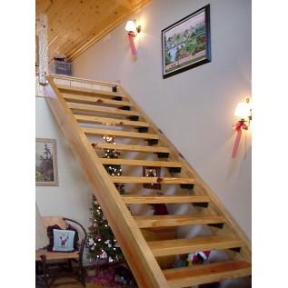 Тетива для лестницы из дерева