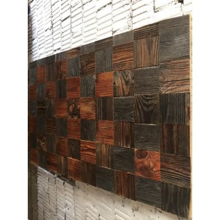 Деревянные 3D панели из Амбарной Доски