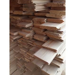 Вагонка из сосны: незаменимый пиломатериал при строительстве