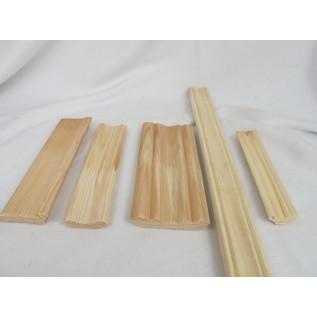Изготовление плинтусов из дерева