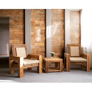 Мебель Лофт из амбарной доски