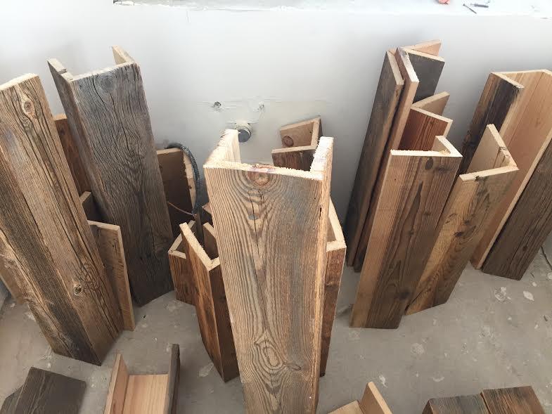 декоративные балки из дерева цена