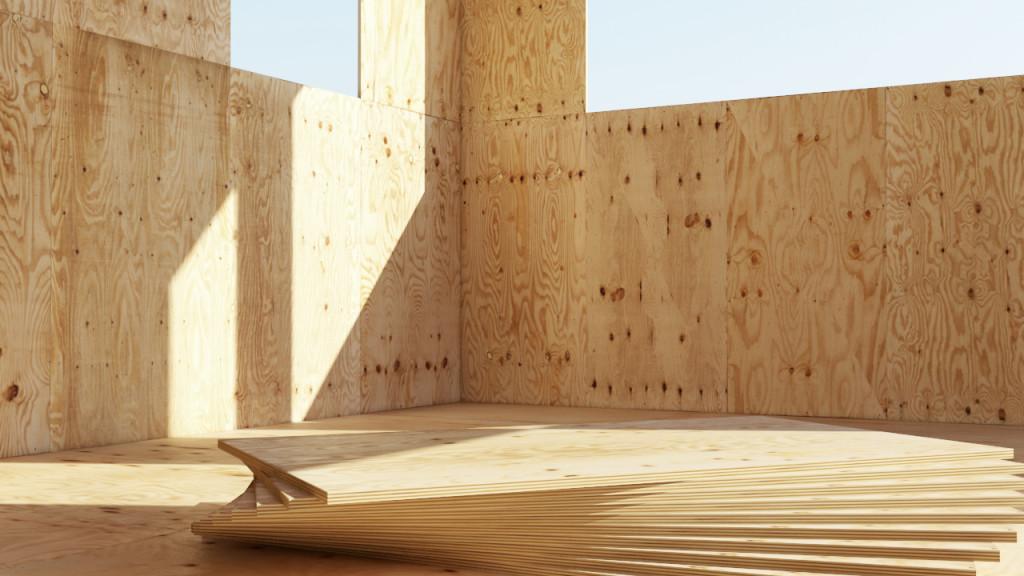 деревянной фанере