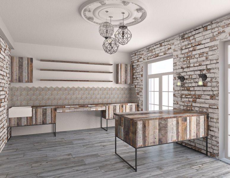 мебели в стиле лофт