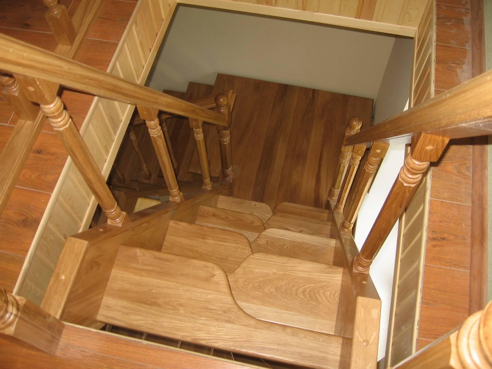 элементы лестницы из дерева купить